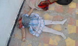Little girl beheaded 1