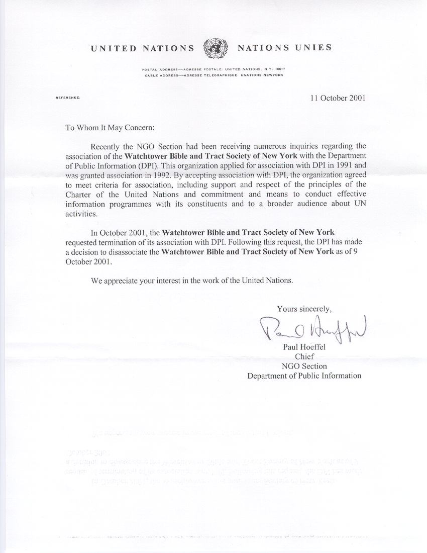 cover letter united nations - Cover Letter United Nations
